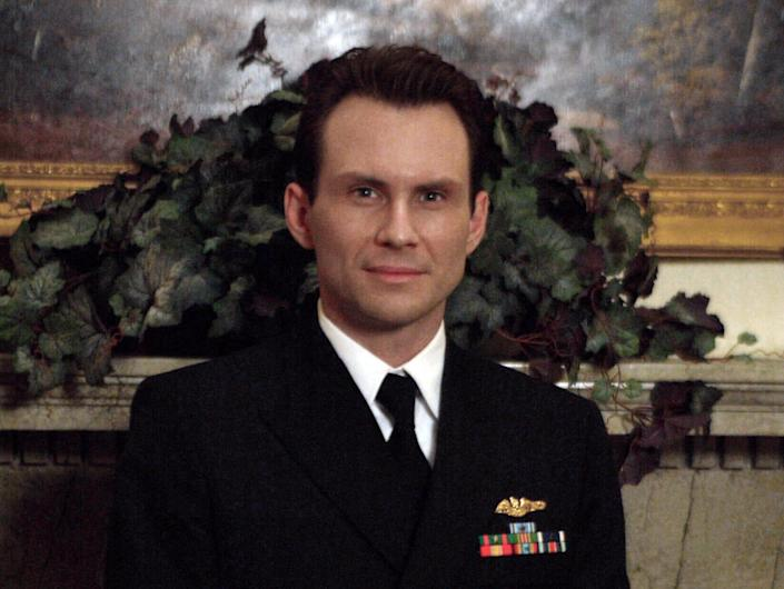 christian slater on the west wing