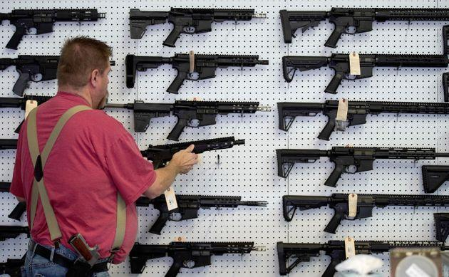 AR-15 guns are designed to kill many people in a short amount of time. (Photo: GEORGE FREY via Getty Images)