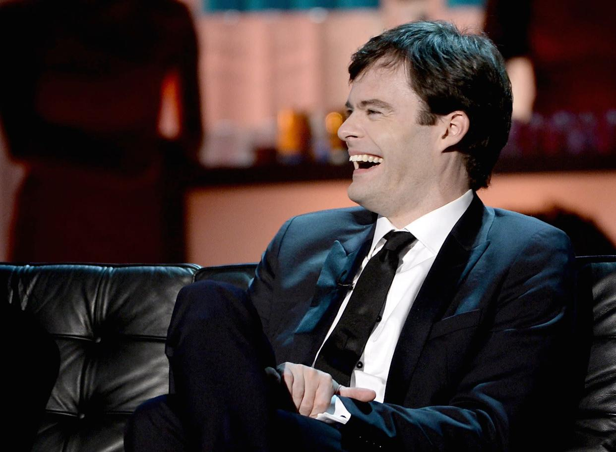 CULVER CITY, CA - AUGUST 25: Actor Bill Hader onstage during The Comedy Central Roast of James Franco at Culver Studios on August 25, 2013 in Culver City, California. The Comedy Central Roast Of James Franco will air on September 2 at 10:00 p.m. ET/PT. (Photo by Kevin Winter/Getty Images for Comedy Central)