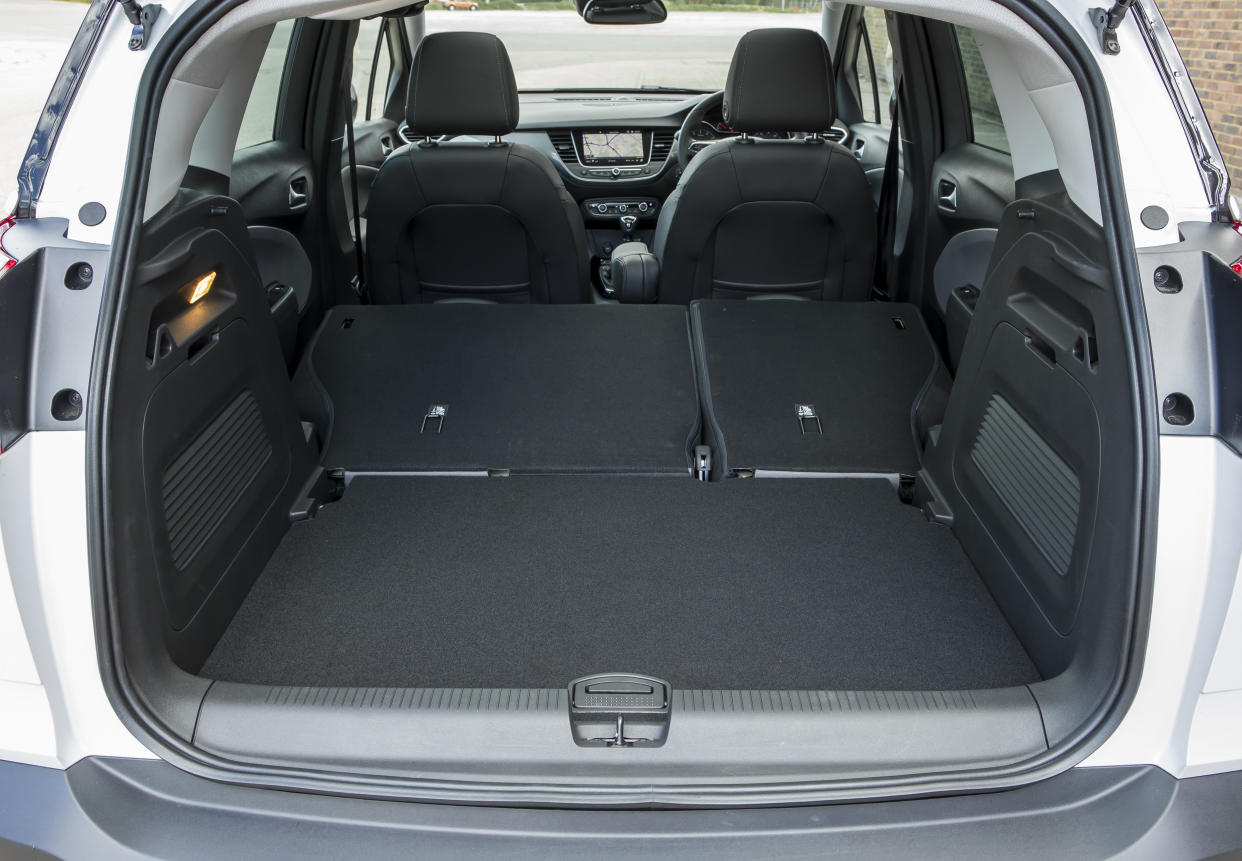 The boot can be extended thanks to folding rear seats