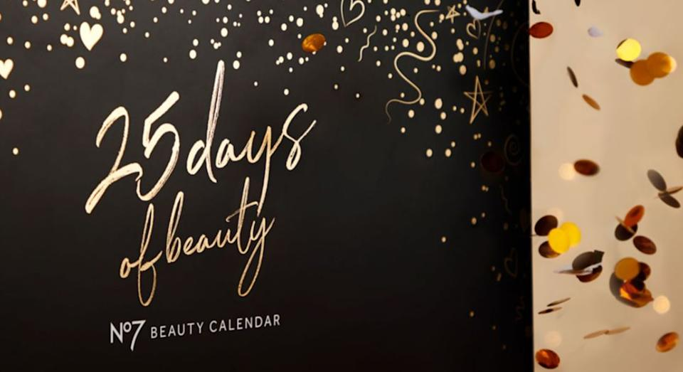 No7's 25 Days of Beauty advent calendar is back in stock at Boots.  (Boots)