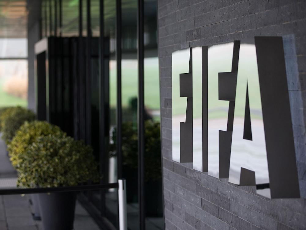 FIFA have banned the referee for life: Getty