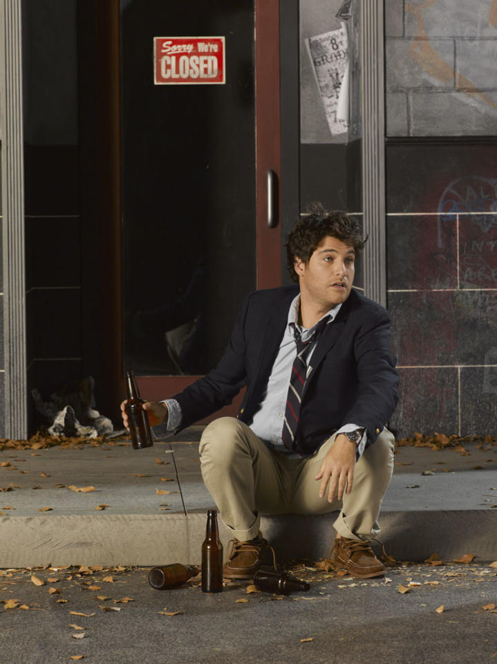 "ABC's ""Happy Endings"" stars Adam Pally as Max."