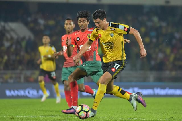The midfielder's wonderful freekick goal for the visitors was the highlight of a drab Super League match between Perak and Kedah in Ipoh.