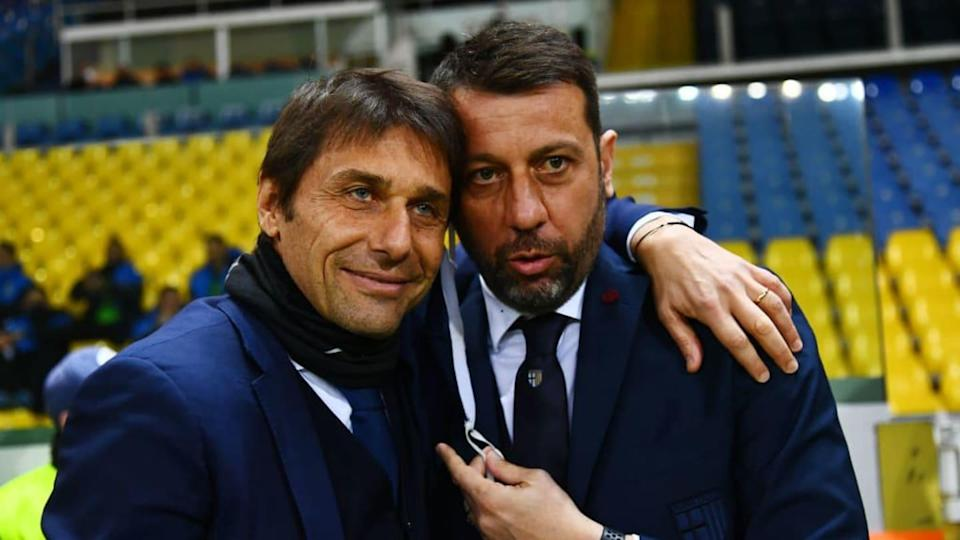 Conte e D'Aversa | Alessandro Sabattini/Getty Images