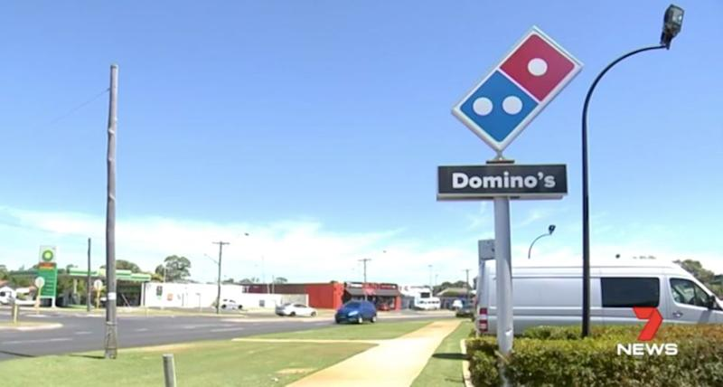 One Domino's outlet is refusing to deliver pizzas at night. Source: 7 News