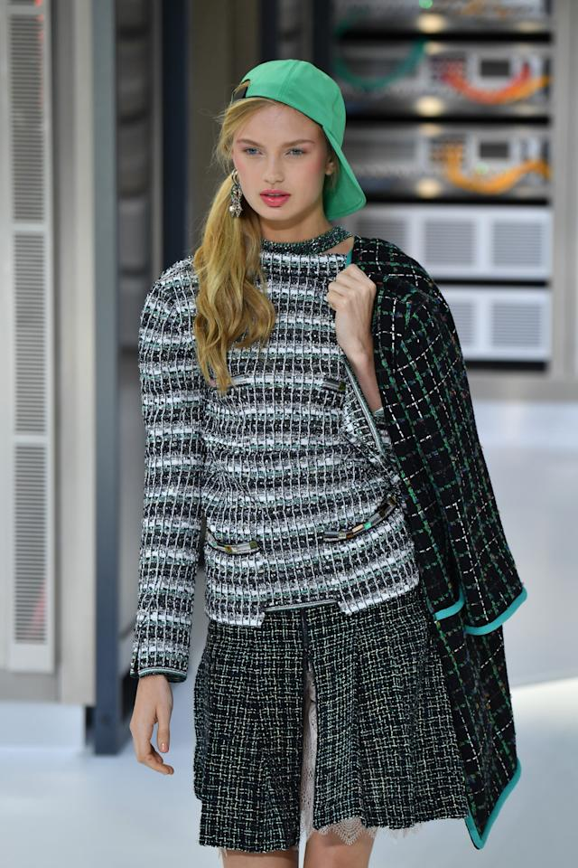 ba1d62fa8f6 Chanel Looks Back to the Future for SS17  Stormtroopers