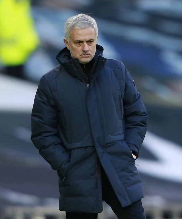 Tottenham manager Jose Mourinho expressed his unhappiness at the actions of his three players
