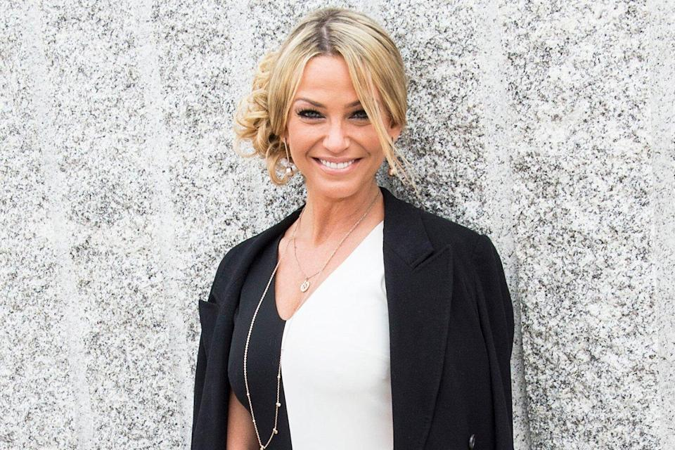 Sarah Harding attends Chelsea Flower Show press day at Royal Hospital Chelsea on May 23, 2016 in London, England. The prestigious gardening show features hundreds of stands and exhibition gardens.
