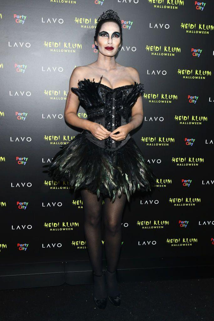 <p>One of the most popular costumes of all time is Natalie Portman's <em>Black Swan</em> character Nina. So, it wasn't too surprising when the model-turned-<em>Top Chef </em>host arrived to a Halloween party wearing this number. </p>