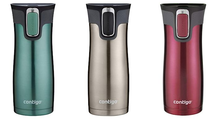 These sleek mugs are perfect for coffee on-the-go.