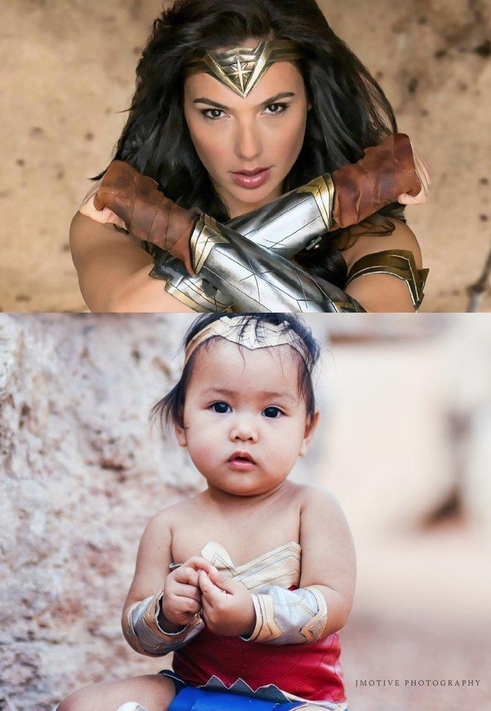 "Following the unexpected attention, Pingoy has a new dream ― to have Liliana meet ""Wonder Woman' star Gal Gadot.  (Mary Grace Pingoy of jmotivephotographycom)"