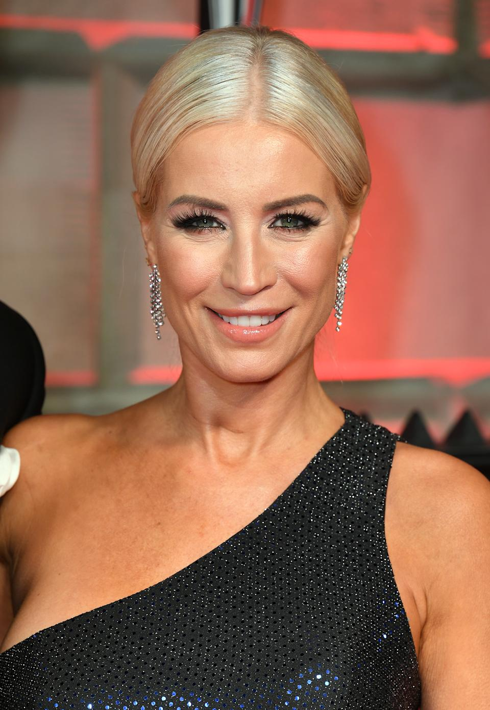 Denise van Outen attending the 12th annual Sun Military Awards at Banqueting House, London.Photo credit should read: Doug Peters/EMPICS