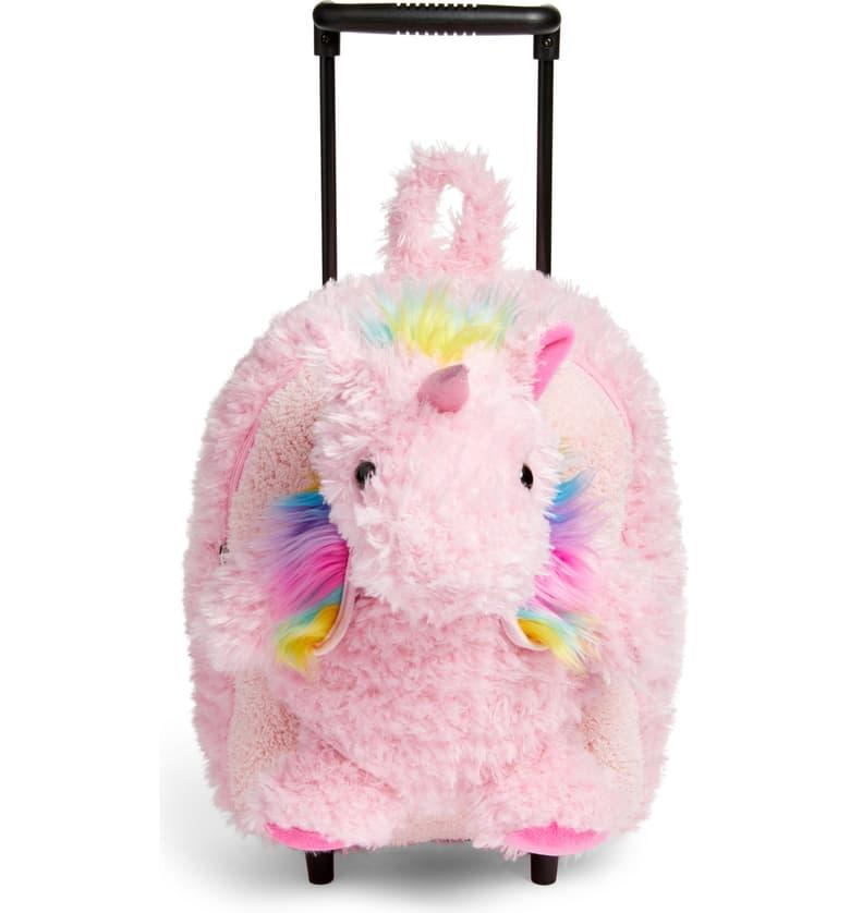 Unicorn Trolley Rolling Backpack
