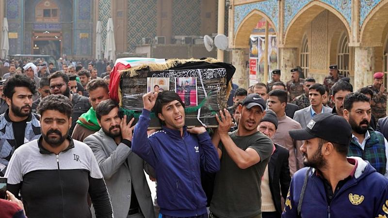 Hundreds of Iraqi protesters have died since October 1; PM Adel Abduil Mahdi says he'll step down