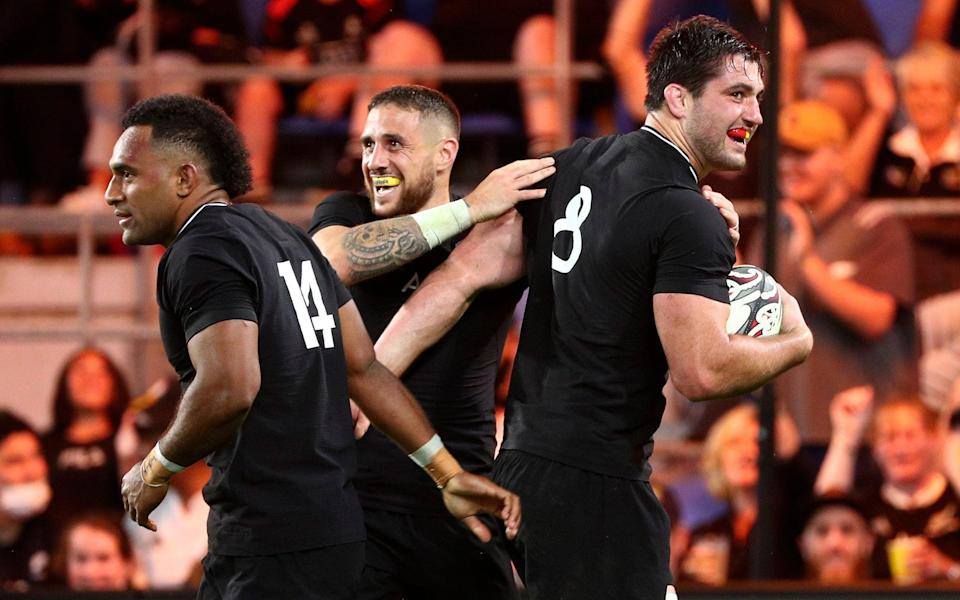 Ruthless New Zealand cruise to Rugby Championship win over sloppy Argentina - AP