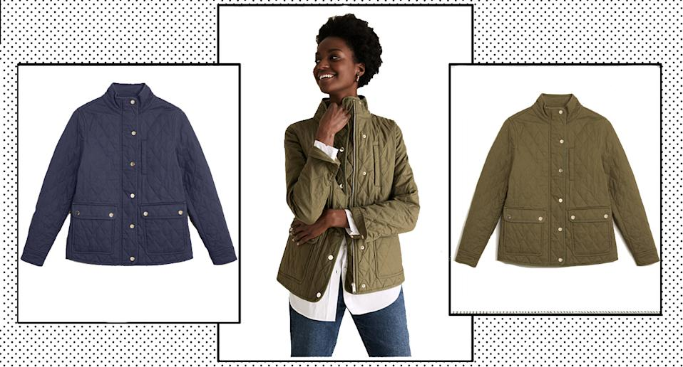 Marks and Spencer's Quilted Jacket is tipped to be this season's must have.  (Marks and Spencer)