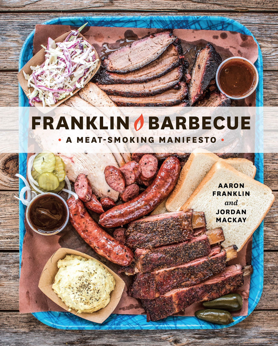Franklin Barbecue: A Meat-Smoking Manifesto. Image via Amazon.