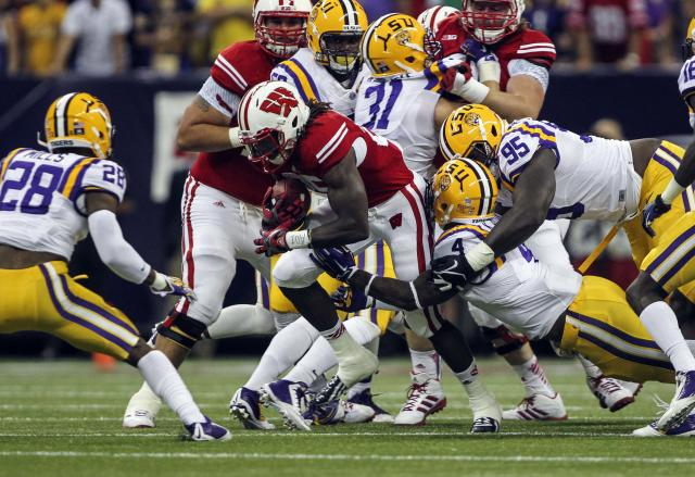 Hip injury kept Wisconsin RB Melvin Gordon out in second half vs. LSU