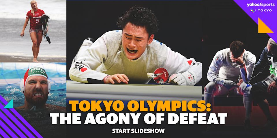 Tokyo Olympics: The Agony of Defeat