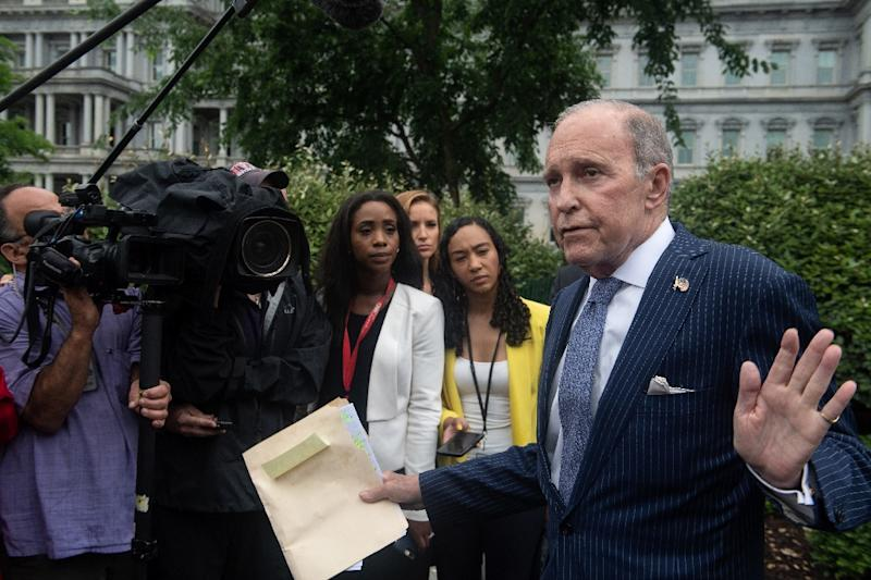 'Don't blame Trump, blame China,' Kudlow said