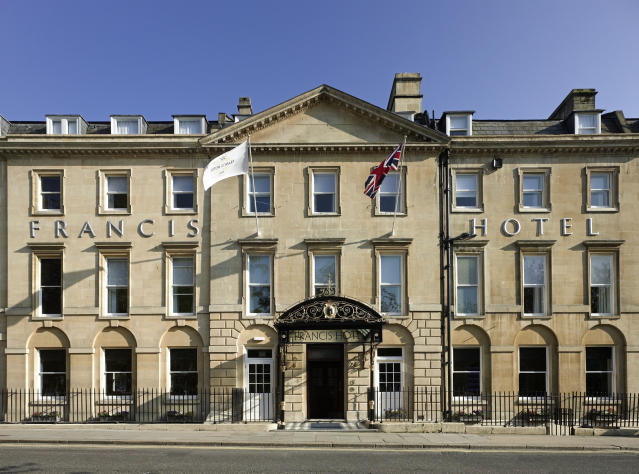 The exterior of Francis Hotel in Bath [Photo: Supplied]