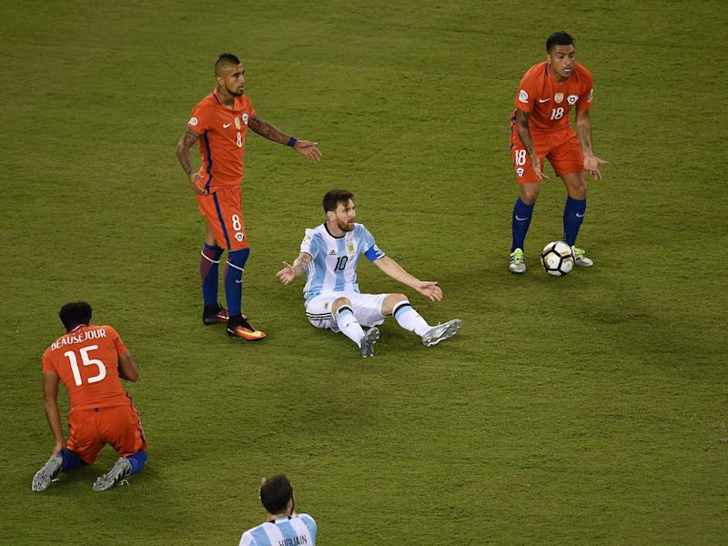 Lionel Messi and Argentina face Chile again for the first time (Getty)