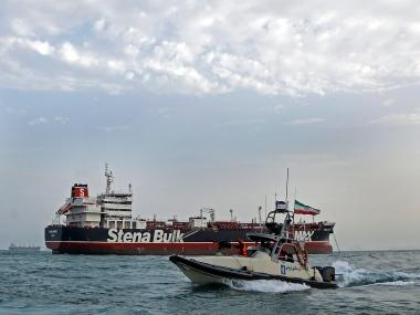 British PM Theresa May to hold emergency meeting today to discuss Iran's seizure of UK-flagged tanker in the Gulf