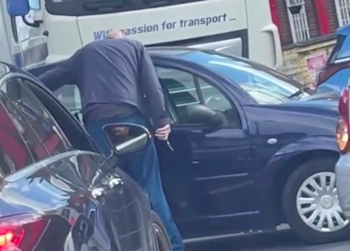 A man allegedly pulled a knife outside a petrol station in south east London. (Evening Standard)