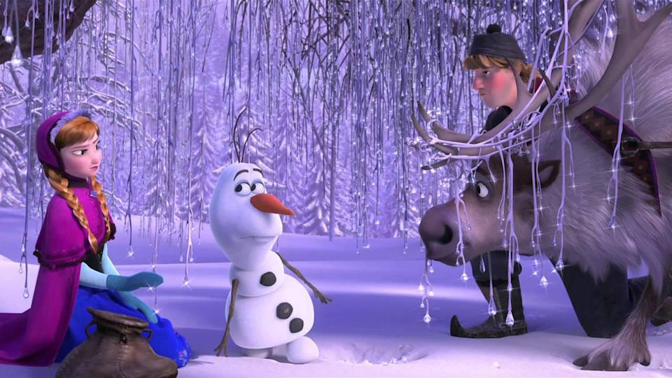 <p> Frozen tells the story of two sisters, Anna and Elsa, who become estranged from each other after their parents&#x2019; death and from all the years Elsa has been kept isolated &#x2013; all because she possesses ice powers she struggles to control. With the help of a kind-hearted ice harvester named Kristoff and his reindeer Sven, alongside a magical snowman named Olaf, the two sisters save the kingdom of Arendelle and discover the key to their special bond. </p> <p> Frozen offers the best example of the modern Disney princess, Elsa and Anna&#x2019;s stories don&#x2019;t prioritise getting rescued or finding some Prince Charming. It&#x2019;s their relationship that remains at the heart of everything, offering a touching tribute to the power of sisterly love. Plus, the way Idina Menzel belts out &#x201C;Let it Go&#x201D; has given us an anthem for the ages.&#xA0; </p>