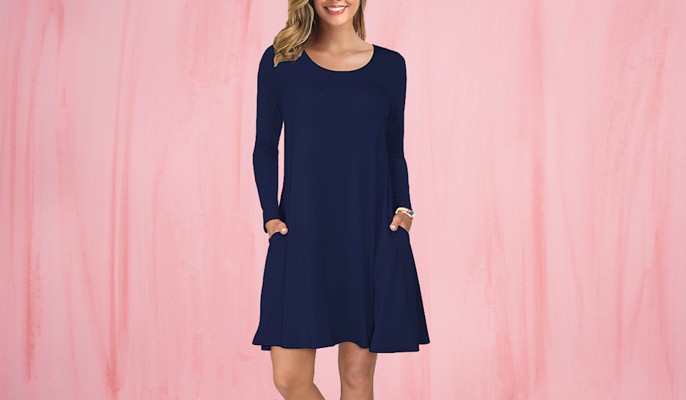 For chillier days, choose the cozier Korsis long-sleeve — now $24! (Photo: Amazon)