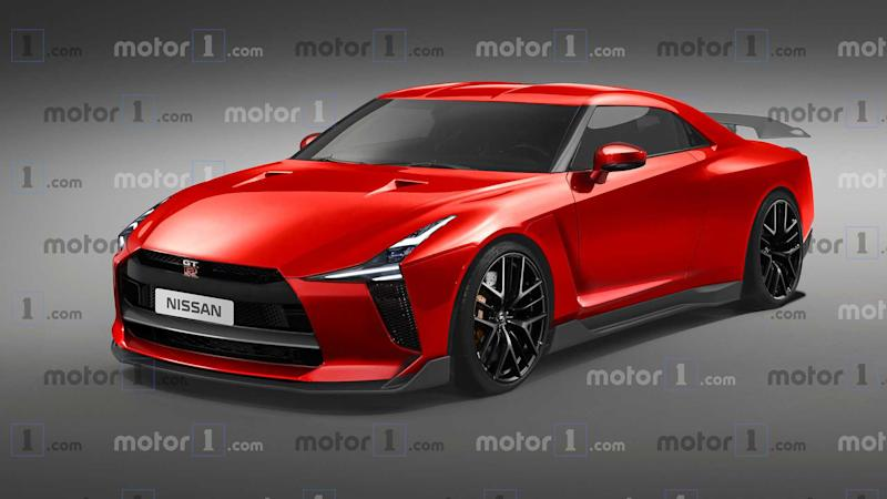 New nissan GT-R render looks brilliant but it won't be real