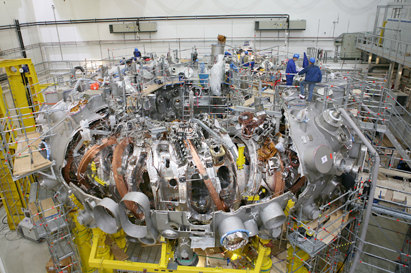After 19 Years Of Construction The World S Largest Fusion Reactor
