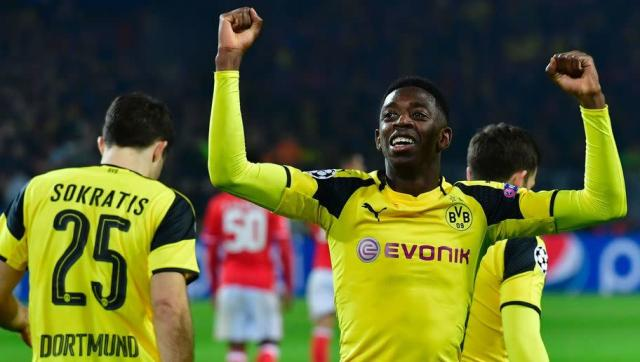 <p>Dembele will square off against Mbappe in the eagerly-anticipated Champions League quarter final clash in April.</p> <br><p>The French wide man is frequently ranked alongside the Monaco front man in conversations about Europe's hottest young properties.</p> <br><p>Dembele won Ligue 1 Young Player of the Year in 2016 and was ranked eighth in the Daily Mail's recent best 50 players under 23 list.</p>