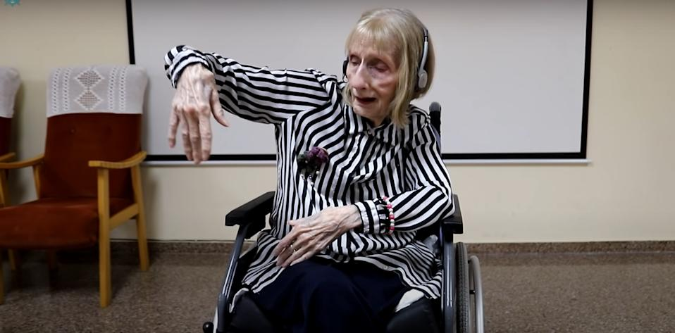 A video of a former ballerina with dementia remembering her dance moves is going viral. (PA Real Life)