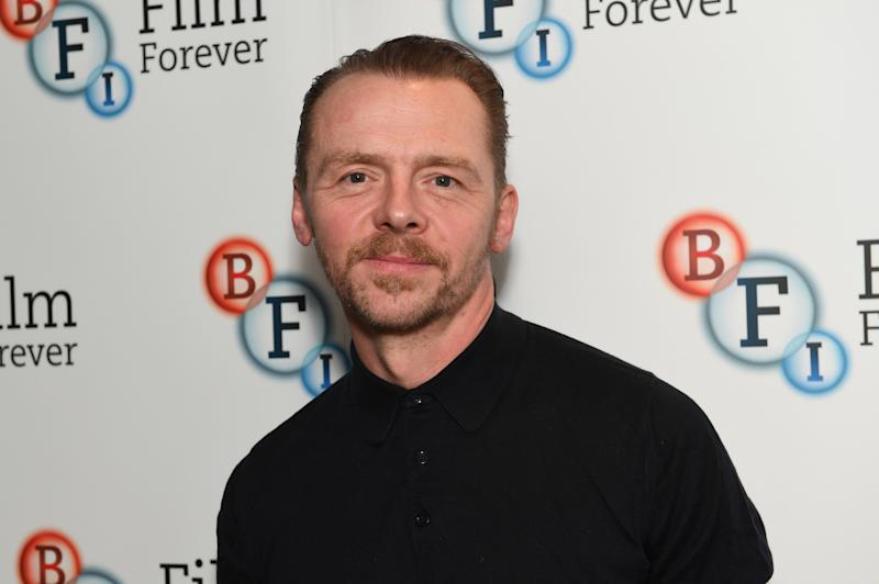 Simon Pegg in 2017 (Photo: Stuart C. Wilson via Getty Images)