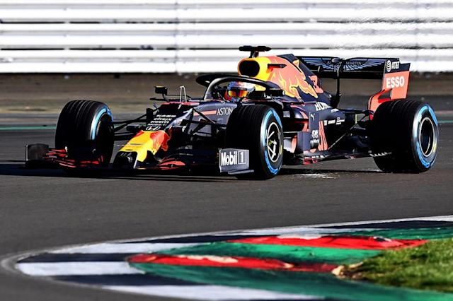 "Max Verstappen, Red Bull Racing RB16 <span class=""copyright"">Red Bull Content Pool</span>"