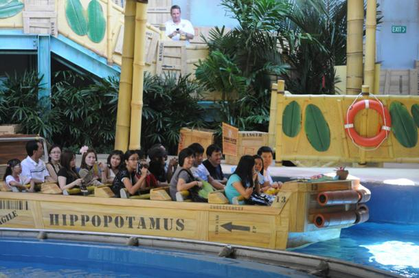 The Madagascar ride in Universal Studios Singapore caters to families. (Yahoo! photo / Ang Kai Fong)