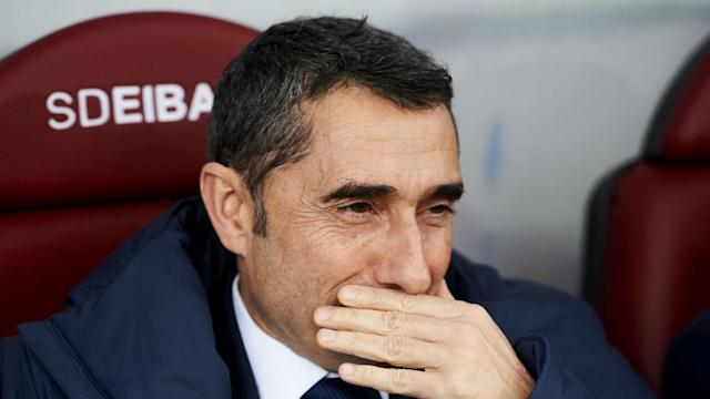 The Camp Nou giants are chasing down La Liga, Champions League and Copa del Rey prizes, but their manager's main focus is to enjoy his time in charge