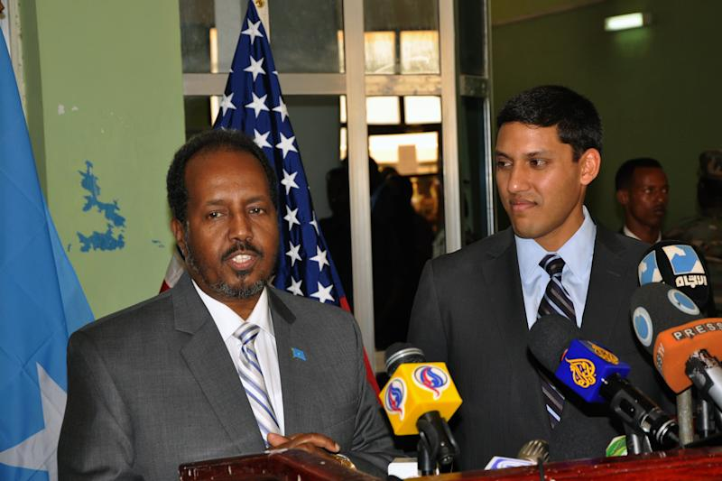 USAID chief visits Mogadishu, says US is committed