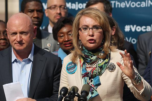 Mark Kelly and Gabrielle Giffords Call for Sensible Gun Control