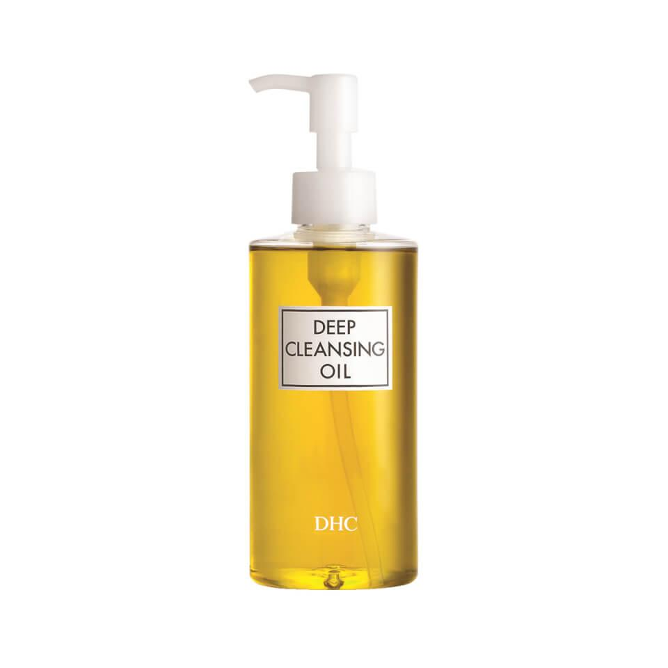 "<h3>DHC Deep Cleansing Oil</h3><br>This olive oil-infused oil cleanser gently removes every last morsel of makeup, even waterproof mascara.<br><br><strong>DHC</strong> Deep Cleansing Oil, $, available at <a href=""https://go.skimresources.com/?id=30283X879131&url=https%3A%2F%2Ffave.co%2F3gC5Aol"" rel=""nofollow noopener"" target=""_blank"" data-ylk=""slk:LookFantastic"" class=""link rapid-noclick-resp"">LookFantastic</a>"