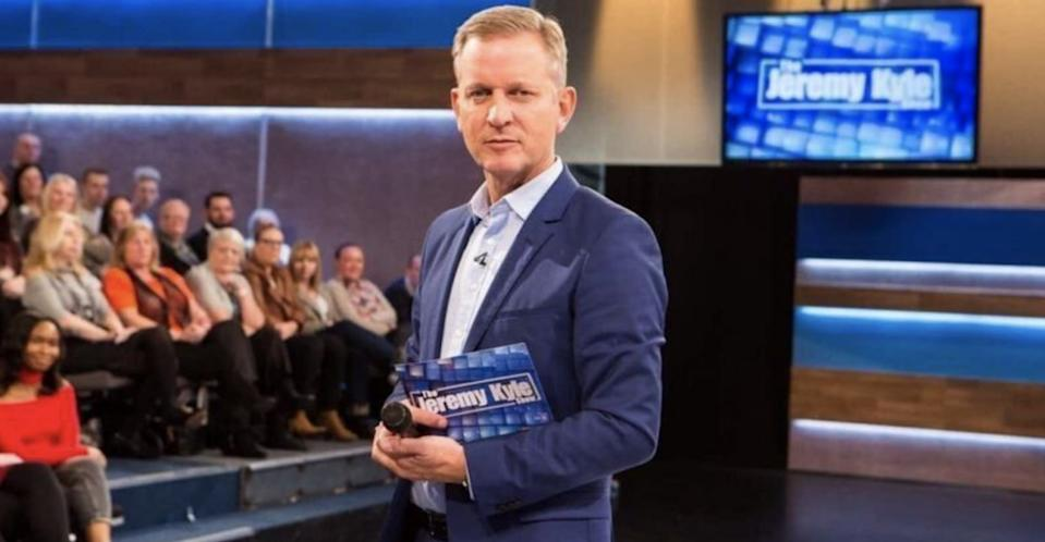 'The Jeremy Kyle Show' was axed last May following the death of Steve Dymond. (Credit: ITV)