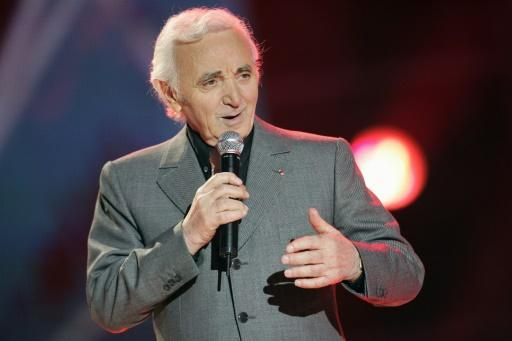 Charles Aznavour was still performing at the time of his death, aged 94