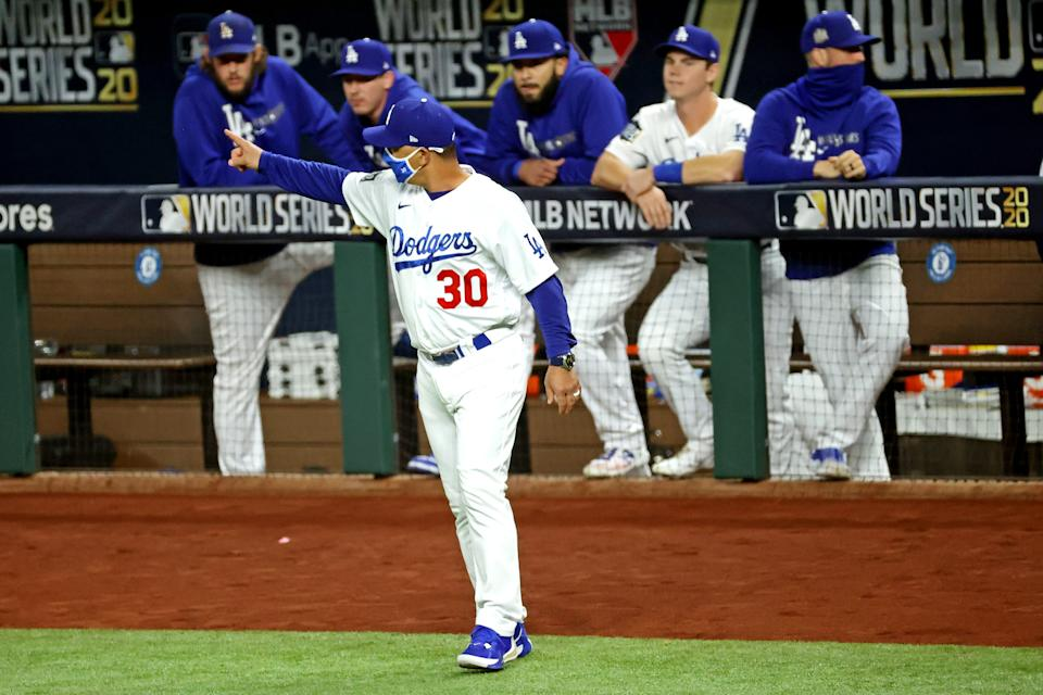Dodgers manager Dave Roberts was drafted and signed by the Tigers in 1994 before going on to a 10-year MLB career and a World Series title in 2020.