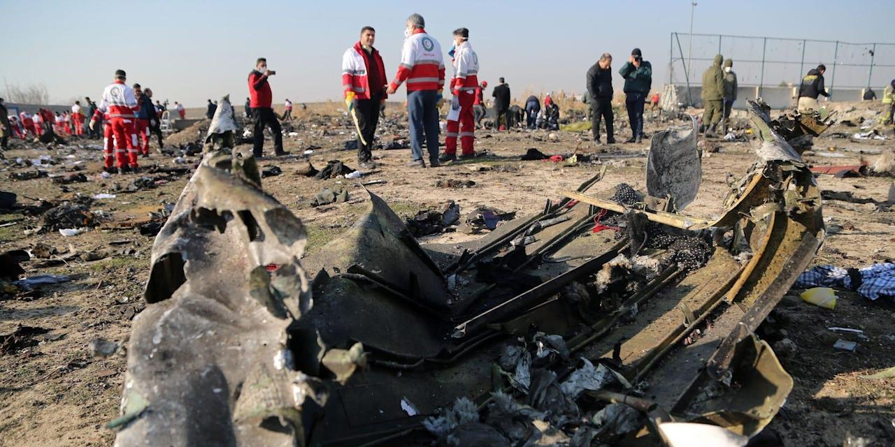 Everything we know so far about the crash involving a Ukraine International Airlines Boeing 737 in Iran