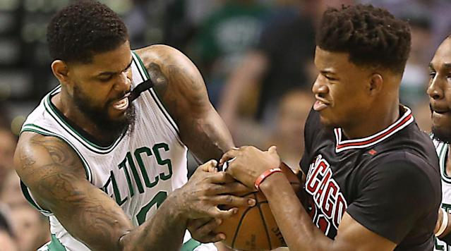 The Celtics host the Bulls in Boston on Tuesday night for Game 2 of their first-round Eastern Conference playoff series.