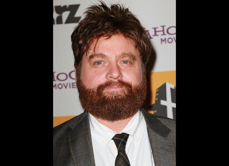 Zack Galifianakis attends the 14th annual Hollywood Awards Gala at The Beverly Hilton Hotel on October 25, 2010 in Beverly Hills, California. (Photo by David Livingston/Getty Images)