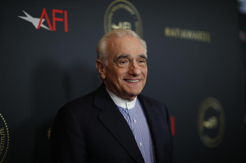 Director Martin Scorsese attends the AFI 2019 Awards luncheon in Los Angeles, California, U.S., January 3, 2020. REUTERS/Mario Anzuoni