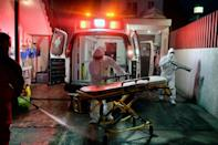 Ambulances and equipment must be sanitized at the end of the shift